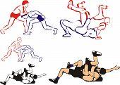 wrestling combat sports