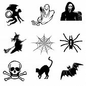 Halloween Icons Collection