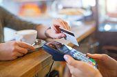 Customer Paying Through Credit Card  poster