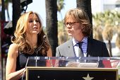 LOS ANGELES - MAR 7:  William H. Macy; Felicity Huffman at the Ceremony honoring them with their Hol