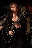 Byram, Nj  -  Jan 26: Vocalist Lisa Lowell Performs At Salt Gastropub On January 26, 2012 In Byram,