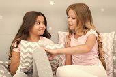 Best Friends Forever. Soulmates Girls Having Fun Bedroom Interior. Childhood Friendship Concept. Gir poster