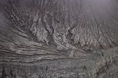 Indonesia Kawah Ijen Volcano Crater.kawah Ijen Is Famous Place Attraction For Tourist.ijen Volcano C poster