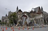 Christchurch Earthquake - Cranmer Square Building Collapses