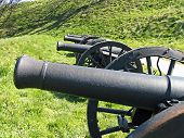 Old Medieval Cannons