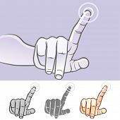 Multi-touch Hand Gestures For Smart-phone, Tablet And Pad- Tap