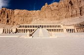 Grand Entrance To Hatshepsut's Temple