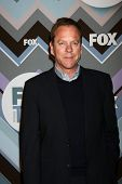 PASADENA, CA - JAN-8: Kiefer Sutherland beachtet die FOX TV 2013 TCA Winter Presserundgang am Langham Hu