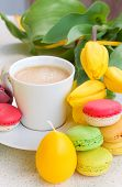 image of easter_break  - easter breakfast with coffee - JPG
