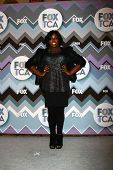 PASADENA, CA- JAN 8:  Alex Newell attends the FOX TV 2013 TCA Winter Press Tour at Langham Huntingto