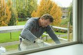 Painting A Window-frame