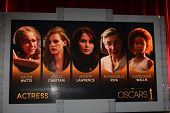 LOS ANGELES - JAN 10:  Actress Nominations at the 2013 Academy Award nomination announcements at Sam