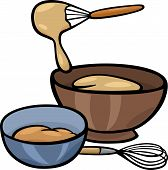 Dough Knead Clip Art Illustration