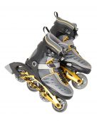 picture of inline skating  - Inline skates on a white background - JPG