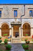 Church of St. Maria delle Grazie. Manduria. Puglia. Italy.