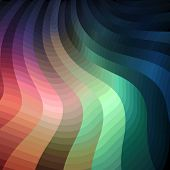 Colorful shiny wavy background, vector eps8 illustration