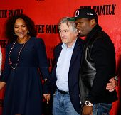 NEW YORK-SEP 10: (L-R), Grace Hightower, Robert DeNiro and 50 Cent attend