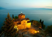 Church of St. John at Kaneo. Ohrid, Macedonia