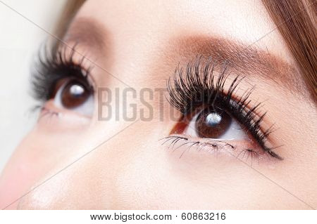 Beautiful Woman Eye poster