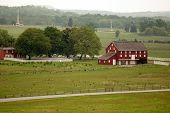 Red Barn at Gettysburg