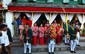 Nepali Royal Ladies In Kathmandu