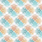 Seamless Colored Pattern
