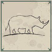 Animal Retro Background