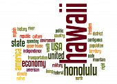 Hawaii Word Cloud