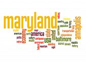 Maryland Word Cloud