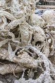 Art Hell Style In Wat Rong Khun Chiangrai Thailand