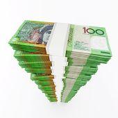 Australian dollar stack