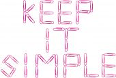 Keep It Simple Red Paper Clips