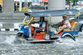 Monsoon Rain In Bangkok, Thailand