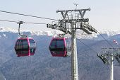 Cable cars transportation system