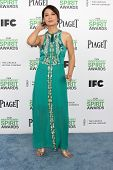 LOS ANGELES - MAR 1:  Ming-Na Wen at the Film Independent Spirit Awards at Tent on the Beach on Marc