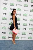 LOS ANGELES - MAR 1:  Angelique Cabral at the Film Independent Spirit Awards at Tent on the Beach on