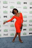 LOS ANGELES - MAR 1:  Angela Bassett at the Film Independent Spirit Awards at Tent on the Beach on M