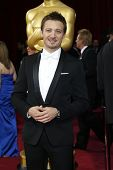 LOS ANGELES - MAR 2:  Jeremy Renner at the 86th Academy Awards at Dolby Theater, Hollywood & Highlan