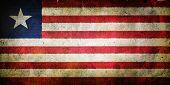 picture of sub-saharan  - Flag of Liberia  - JPG