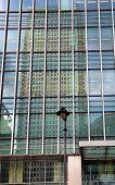 LONDON, UK - JULY 29, 2014: Canary wharf office buildings