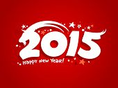 foto of horoscope signs  - 2015 new year design with goat - JPG