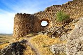 The ruins of Ancient castle in Consuegra.