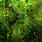 art abstract colorful geometric pattern background in yellow, green, gold, black and brown colors