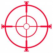 Sniper Rifle Sight Or Scope