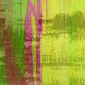 art abstract colorful silk textured blurred background in green, purple and gold colors