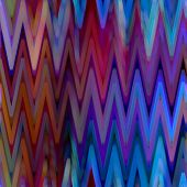 art abstract colorful zigzag geometric seamless pattern background in blue and purple colors
