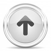 up arrow internet icon