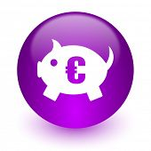 piggy bank internet icon