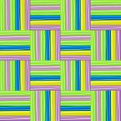 Colorful Straws Pattern