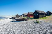 Old Swedish fishing village